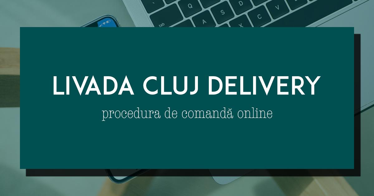 Procedura de comandă mâncare on-line